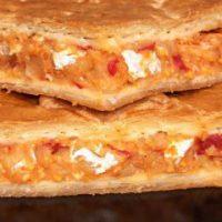 Empanada de Bacalao a la Vizcaina