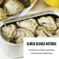 Almeja Blanca Natural